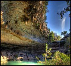 The Hamilton Pool, Austin, Texas, United States