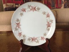 Style House Fine China Windsor Pattern Bread & Butter Plate by AlbertsonMiller on Etsy