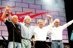 Pink Floyd to stream a concert for free every Friday – starting today Pink Floyd Concert, Pink Floyd Live, Liberal Education, Richard Wright, Roger Waters, David Gilmour, Rock Concert, Lineup, Punk Rock