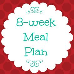 FREE 8-week meal plan + tips for planning meals and simplifying lunch and dinner