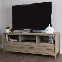 Top Product Reviews for South Shore Exhibit TV Stand (60 inches) - Overstock.com - Mobile