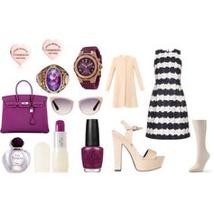 If only I had money by elisfrencis on Polyvore featuring Mother of Pearl, Goat, Apt. 9, SPURR, Hermès, Tiffany & Co., Michele, Tom Ford, Uslu Airlines and OPI