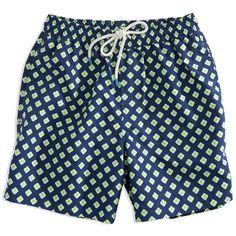 e9141fccfa Southern Tide | Dockside Swim Trunk Mens Swim Shorts, Southern Tide,  Patterned Shorts,