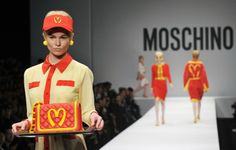 McDonald's-themed couture at Milan Fashion Week. Are you luvin' it?
