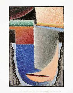 Alexej von Jawlensky - Abstract Head, 1929