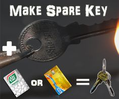 Make a Key in minutes By using Expired Debit Or Credit bank card or any similar type cards or an Empty Tic tac mints plastic container we can make emergency spare key for lock, The resulted key can be used up to 10 times because its not metal it will bend so make it in less than 4 mins and keep in your wallet and use i an forgotten or an emergency situation.It is the most Usefull and easiest life hack using plastic bottle or a card.Requirements:Tictac container unused gift or expired cards…