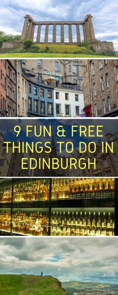 9 Fun Free Things to Do in Edinburgh, Scotland - Eternal Arrival - http://eternalarrival.com/uk/free-things-to-do-in-edinburgh/