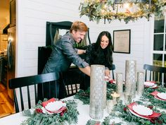 The work is mostly done at the new Magnolia House bed and breakfast. It's time to decorate the tree and ease into the holidays. Browse through this collection of photos of Fixer Upper's Joanna and Chip Gaines enjoying the season.