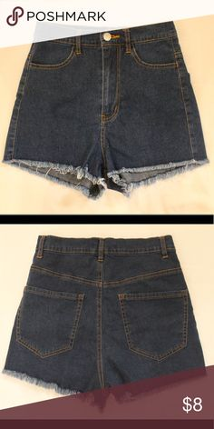 Jean High waisted summer shorts  sz M Preowned. Worn and washed twice. Sienna & Bellini Shorts Jean Shorts