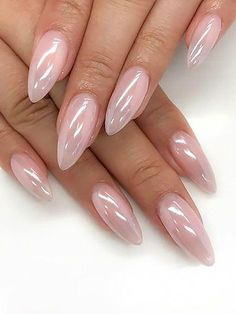 spring 2020 nail trends The 45 pretty nail art designs that perfect for spring looks 8 Pink Nails, Gel Nails, Nail Polish, Coffin Nails, Salon Nails, Blue Nail, White Nails, Perfect Nails, Gorgeous Nails