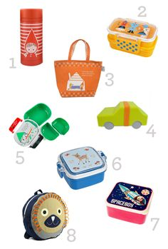 The cutest lunchboxes!
