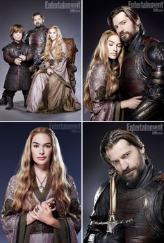 House Lannister (summary from EW.com S02 promo portraits)