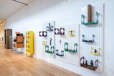Installation view Martino Gamper design is a state of mind 2014, Pinacoteca Agnelli, Lingotto, Torino