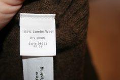 Upcycled Wool Longies Tutorial
