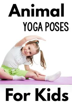 Ideas and themes for animal yoga poses for kids. Make kids yoga fun by moving and posing like animals. Try your kids favorite animals or an animal theme. Kids Yoga Poses, Cool Yoga Poses, Yoga For Kids, Kid Yoga, Toddler Yoga, Pediatric Physical Therapy, Physical Education, Health Education, Kundalini Yoga Poses