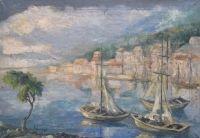 Roman Kramsztyk: Pejzaż z południa Francji, ok. 1925