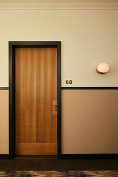 New bedroom hotel design soho house 44 Ideas Bedroom Door Design, Hotel Room Design, Door Design Interior, Modern Interior Doors, Room Interior, Interior Ideas, Bedroom Doors, Natural Interior, Luxury Interior