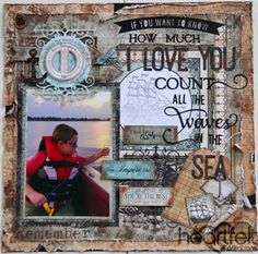 Heartfelt Creations | Count The Waves Layout