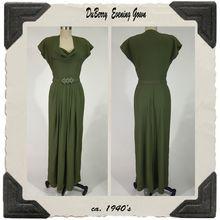 1940's DuBarry Evening Dress