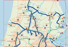 ANWB Waterkaart G Amsterdam - Alkmaar