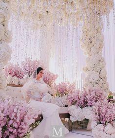 Alhamdulillah selesai sudah majlis akad nikah Anzalna dan @hanif_zaki Terima kasih kepada keluarga dan saudara-mara yang banyak menolong. Majlis takkan indah tanpa decorator team yang hebat seperti @glamweddings majlis takkan berjalan dengan lancar tanpa @the_calla our wedding planner dan Anzalna takkan kelihatan cantik tanpa busana mewah dari @rizalman71 rupa takkan berseri tanpa sentuhan @khirkhalid. Love you guys so much! #HANZALNA Malay Wedding, Wedding Bells, Wedding Stage, Dream Wedding, Wedding Ceremony, Wedding Venues, Wedding Trends, Wedding Designs, Fantasy Wedding