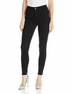 Pull On Jeggings w Curved Frayed Hem in White (White) Women's Jeans