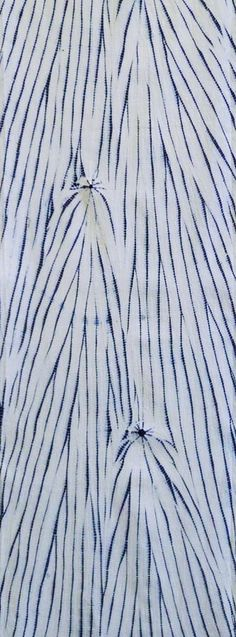 Sri | A Long Piece of Yanagi Shibori: Willow Image