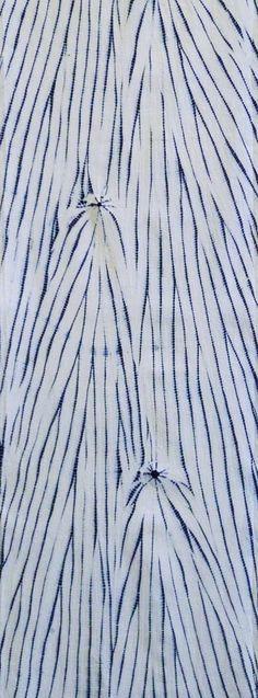 Sri   A Long Piece of Yanagi Shibori: Willow Image