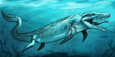 How to Draw a Mosasaurus From Jurassic World, Step by Step ...