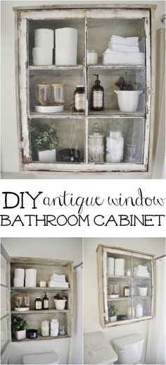 From DIY curtains to vanities, a little something here and there adds up to a lot! 1. Antique Sewing Turned Seedbox Bathroom Display oldewindmillfarm 2. Mason Jar Bathroom Storage Accessories masonjarcraftslove 3. Toilet Paper Holder With Shelf diyshowoff 3. Toilet Paper Holder With Shelf shanty-2-chic Cherished Bliss. Cherished Bliss. 6. Tub Time Photos and DIY …