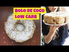 MARAVILHOSO BOLO DE COCO LOW CARB SUPER FÁCIL / DIETA LOW CARB - Drika Magrafit - YouTube