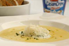 Sopa de choclo - Creamy Corn Soup