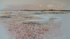 'Nature in Knokke' by Katrien Houtters. The pastel drawing is made on pastel Hahnemühle Velourspaper 70/50 cm. I used Unison pastels, supplemented by Rembrandt pastels. I like using Unsion the most, but I do not yet have a extensive collection. Hope you like my drawing of our nature reserve 't Zwin in Knokke-Heist, Belgium.