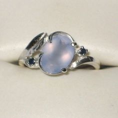 Ellensburg Blue Agate Sterling Silver Ring 5-9-14.  I finally have one! Not this one. Mine is nicer.