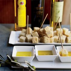 olive oil and bread!