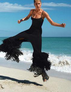 The Body (Vogue Paris) Gilles Bensimon - Photographer Géraldine Saglio - Fashion Editor/Stylist Rudi Lewis - Hair Stylist Hannah Murray - Makeup Artist Doutzen Kroes - Model