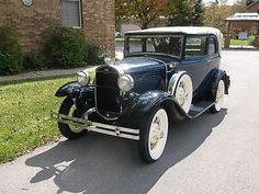 Ford: Model A A400 1931 ford model a a 400 sedan convertible