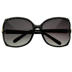 9f961b58f1a Jackie O Fashion Vintage Oversize Womens Square Sunglasses W ... ( 9.99)
