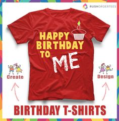 Birthday Party T Shirt Design Templates