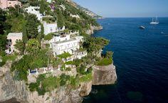 Places to Visit. Villa Treville, Positano, Italy.