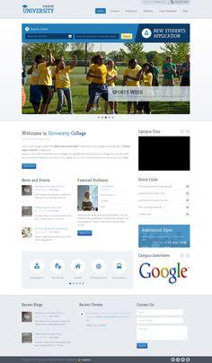 Education Academy WordPress Theme for Universities
