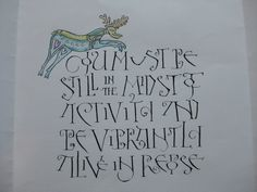 visigothic versals - Google Search Gold Luster Dust, Beautiful Handwriting, Decorated Envelopes, Matching Cards, Typography, Lettering, Calligraphy Letters, Black Paper, Book Making