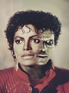 Cause this is thriller night.... Even until now, I am still scared to watch the clip.