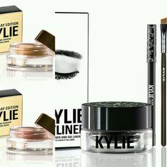 Kylie Cosmetics Make-up Bundle-Black Kyliner Limited Birthday Edition Eye Cremes #KylieCosmetics