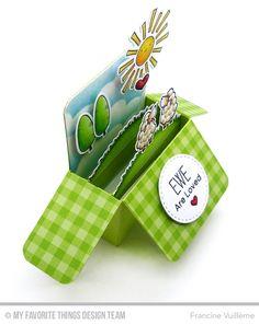 Card by Francine (www.1001cartes.ch) card, cards, karte, carte, carterie, cardmaking, cardmaker, crafts, papercrafts, handmade, diy, stamping, #1001cartes, mftstamps, #mftstamps, dienamics, pop up box, birdie brown