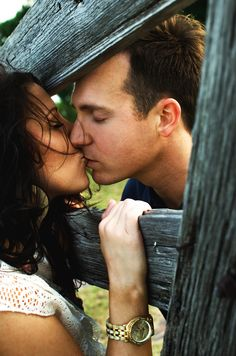 Great shot from my engagement session with Sara and John in the Fort Worth, Tx stockyards.