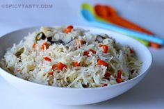 Indo-Chinese Vegetable Fried Rice