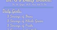 Dr G's Daily Dozen