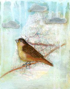 Beautiful bird made by Zorana