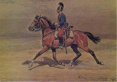 Austrian dragoon, Alexander Pock